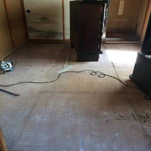 茨城県守谷市 畳下 床板貼替え001