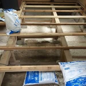 茨城県守谷市 畳下 床板貼替え003
