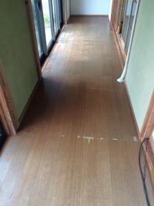 常総市N様邸 縁側床貼り替え工事n1