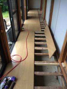 常総市N様邸 縁側床貼り替え工事n3