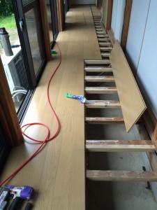 常総市N様邸 縁側床貼り替え工事n4